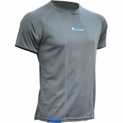 Oxford Cool Dry Motorcycle Base Layer Short Sleeve Men's Top Motorbike Shirt New