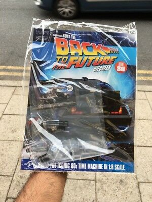 Eaglemoss Build The Delorean Time Machine Issue 80 Back To The Future Pw Weekly