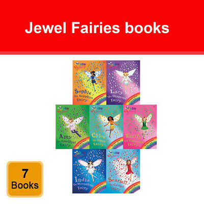 Rainbow Magic Jewel Fairies Collection 7 Books box Set Series 4 Pack 22 - 28 NEW