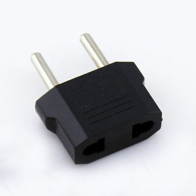 US To EU Europe Euro trip Plug travel Electrical Wall Charger Adapter Converter
