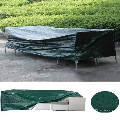 Waterproof  Patio Loveseat Bench Sofa Cover Outdoor Furniture Protection QC