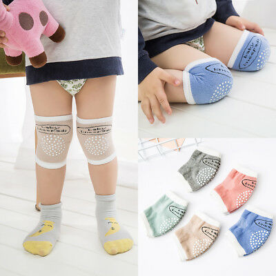 New Safety Crawling Knee Elbow Pads Leg Protector Anti-Slip for Toddler Baby AU