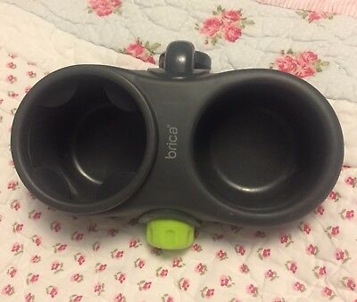MUNCHKIN BRICA DELUXE SNACK POD QUICK ATTACH DRINK CUP HOLDER Excellent Conditio