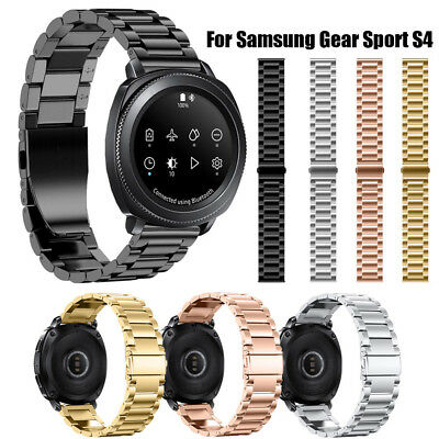 Stainless Steel Accessory Watch Band Strap Metal Bands For Samsung Gear S4