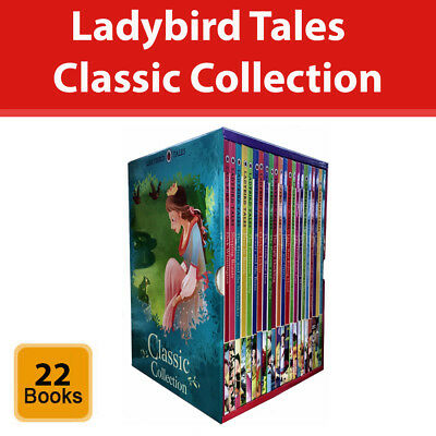 Ladybird Tales Classic Collection 22 Books Box Set Childrens Pack [HB] NEW