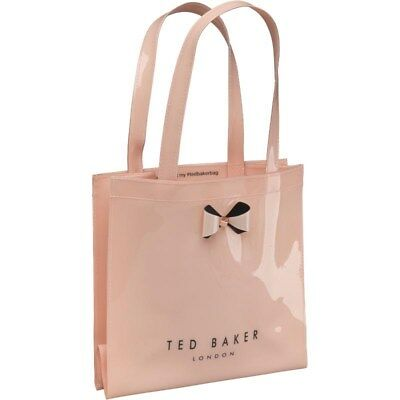 b0d6035af7a9a Ted Baker Womens Pticon Plain Bow Small Icon Bag Pink Designer