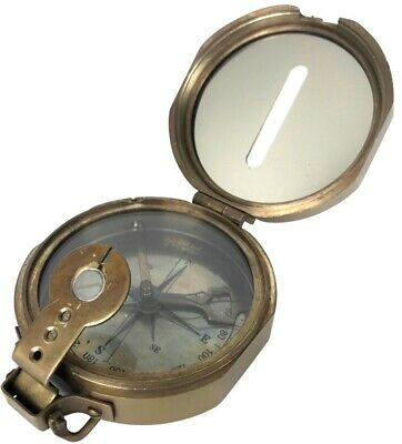 T.Cooke and Sons - Brass Clinometer Compass