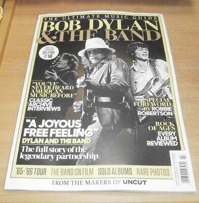 Uncut magazine Ultimate Music Guide Series #7 JUL 2018 Bob Dylan & The Band