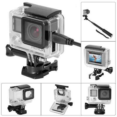 8-in-1 Action Camera Accessories Dive Housing Kit for Gopro Hero 4 3+ 3