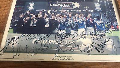 Birmingham City 01 (Carling Cup Winners 2011) Photo Print
