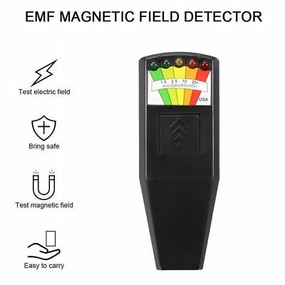 KII EMF Meter Magnetic Ghost Hunting Paranormal Equipment Field Detector 5 LED