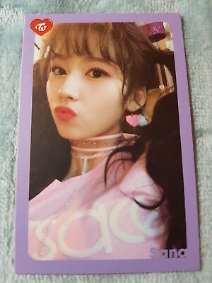 25)TWICE 5th Mini Album What Is Love? Sana Type-2 PhotoCard Official K-POP