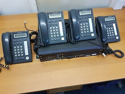 Panasonic KX-NCP500x TELEPHONE SYSTEM  with Phones DT321
