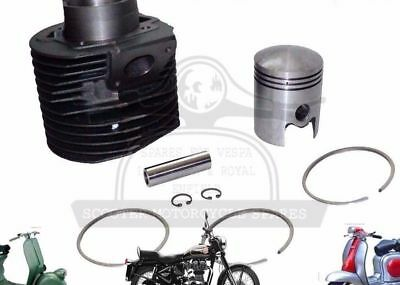 NEW LAMBRETTA GP200 SCOOTERS CYLINDER BARREL WITH PISTON KIT @AEs