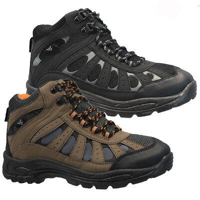 Mens Lace Up Trail Winter Walking Hiking Winter Work Ankle Boots Shoes Trainers