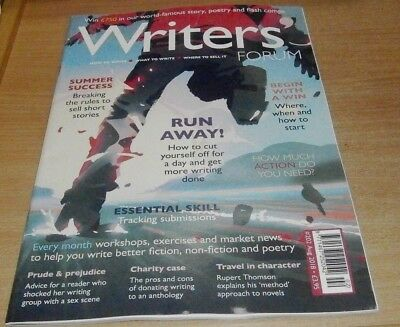 Writers' Forum magazine #202 AUG 2018 Breaking the Rules to sell Short Stories &