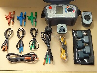 Kewtech kt64 17th Edition Multifunction Tester and accessories