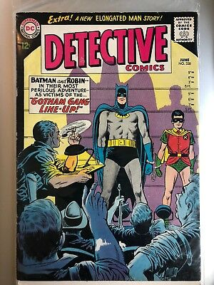 "Detective Comics #328_June 1964_Fine+_Batman_Robin_""gotham Gang Line-Up""!"