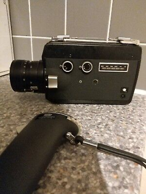 Vintage Camcorder, reel to reel projector and screen
