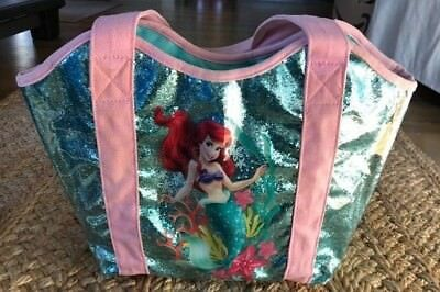 Official Disney Store Ariel Little Mermaid Swim Bag