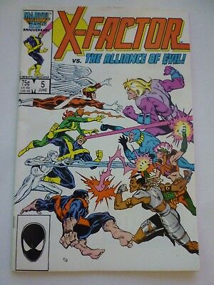 X-Factor #5 June 1986 First Appearance of Apocalypse Marvel Comics