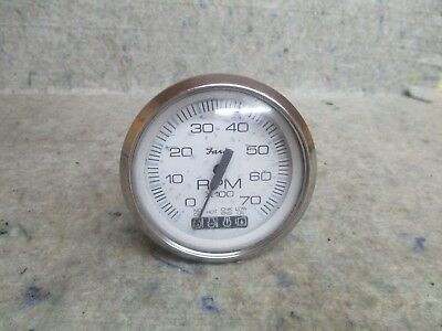Faria Tachometer W/systems Check Gauge 7K