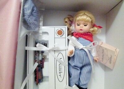 Madame Alexander Doll Collecting Trains, No. 28585