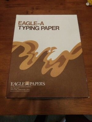 Eagle A Typing Paper Vintage Retro 500 Sheets