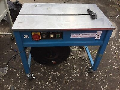 Semi-Auto Strap Machine For 6mm To 15.5mm Pp Strapping Ref A