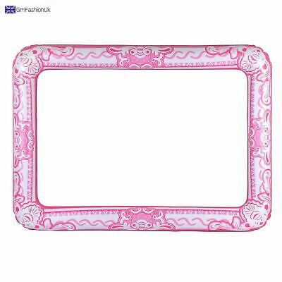 LARGE PINK Inflatable Selfie Picture Frame Blow Up GIANT PHOTO BOOTH Hen Party