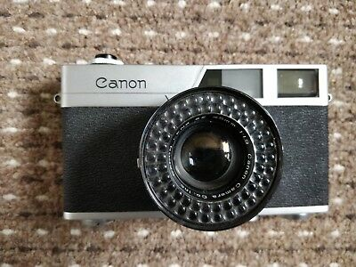 CANON Canonet Rangefinder Camera With Canon SE 45mm f/1.9 Lens - P07