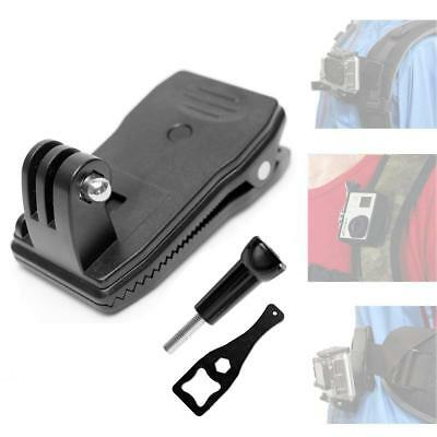 Rotatable 360 degree Quick Clip Mount for GoPro HERO 6 5 4 3 Backpack Rucksack