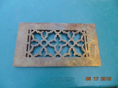 "Cast Iron 4x8"" HVAC Register"