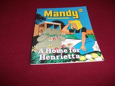 MANDY  PICTURE STORY LIBRARY BOOK  from the 1980's: never been read - ex condit!