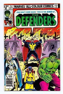 Marvel Comics: Defenders #75 & #76 - Both Issues!