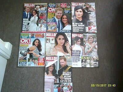 7 hello and ok magazines harry and meghan