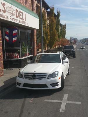 2013 Mercedes-Benz C-Class  MB C 300 4matic  Polar White Very Low Miles