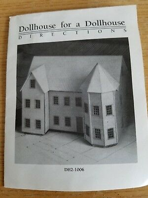 Northeastern Scale Models Miniature Dollhouse For A Dollhouse Dh2-1006