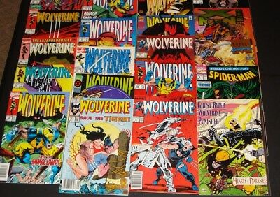 Lot Of 20  Wolverine Comic Books