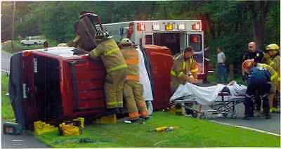 Vehicle Extrication & Fire Training Tools Firefighter DVD + Car Fires Video
