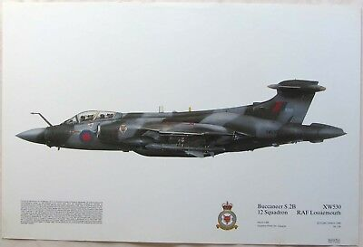 Blackburn Buccaneer S.2B 12squadron Digital Artwork Print
