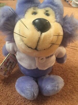 "12"" Presents Benny from TopCat Plush Toy With Tags From 1985 Hanna Barbera RARE"