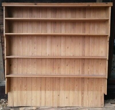 Classic Pine Dresser Top ..  Strong Solid Piece in Good Condition
