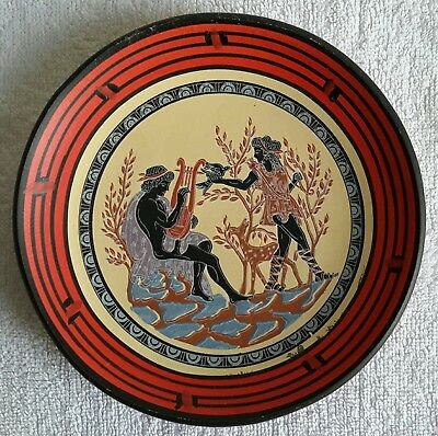 Diana - Apollo Handmade in Greece by Pcarcalis Decorative Plate