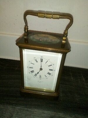 Vintage Brass Carriage Clock