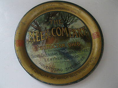 Vintage Tip Tray by Advertising Firm - The Meek Company In Coshocton, Ohio