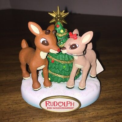 Rudolph The Red-Nosed Reindeer Musical Christmas Ornament