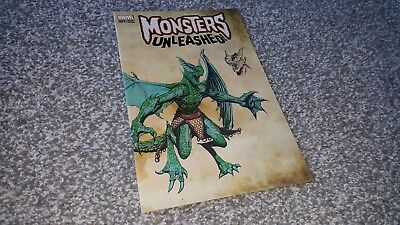 MONSTERS UNLEASHED #1 of 5 NEW MONSTER VARIANT (2017) MARVEL EVENT
