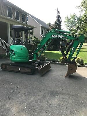 2011 Case  CX 31 B Mini Excavator Hydrolic Thumb Rubber Tracks 1480 Hrs Doz Bld