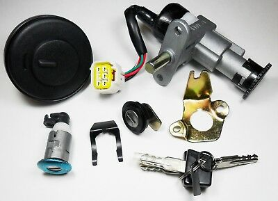 Keeway Matrix 50 Ignition Switch Set - New OEM